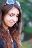 Pensées aimables, sourire aimable Photo libre de droits