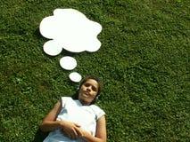Pensées d'été? Photo libre de droits