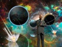 Pensées d'Armageddon illustration de vecteur