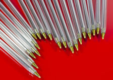 lots of pens Royalty Free Stock Photography