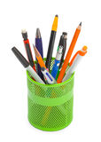 Pens in Can stock photography