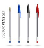 Pens set Royalty Free Stock Photography