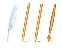 Pens (vector) Royalty Free Stock Photos