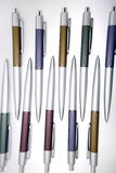 Pens on white background Royalty Free Stock Photography