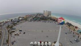 Pensacola Beach. Drone shot of Pensacola Beach Stock Image