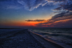 Pensacola Beach sunrise Royalty Free Stock Images