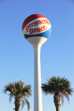 Pensacola Beach Water Tower. The water tower in Pensacola Beach, Florida Royalty Free Stock Photo
