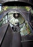 Pensacola-Leuchtturm - Fresnel-Objektiv Lizenzfreie Stockfotografie
