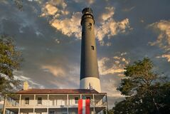 Pensacola Lighthouse At Dusk Royalty Free Stock Photography