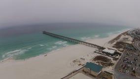 Pensacola plaża Obrazy Royalty Free