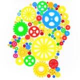 Pensador intelectual stock de ilustración