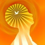 Pensador livre Imagem de Stock