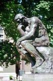 Pensador - Rodin - NYC Fotos de archivo