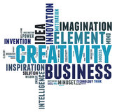 Pensamento creativo Imagens de Stock Royalty Free
