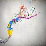 Pensamento creativo Imagens de Stock