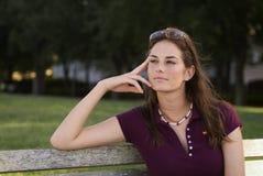 Pensamento de Alisha fotos de stock