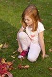 Pensamento sobre o outono Fotos de Stock Royalty Free