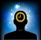 Pensamento sobre o tempo Foto de Stock
