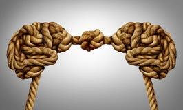 Pensamento unido ilustração do vetor