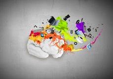 Pensamiento creativo Fotos de archivo