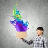 Pensamiento creativo Fotografía de archivo libre de regalías