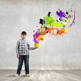 Pensamiento creativo Foto de archivo libre de regalías