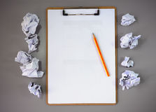Pensamiento de la idea Foto de archivo libre de regalías
