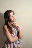 Pensamiento del adolescente Fotos de archivo libres de regalías
