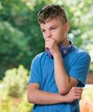 Pensamiento del adolescente Imágenes de archivo libres de regalías