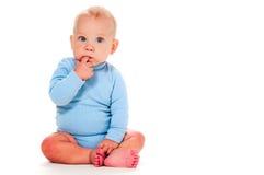 Pensamiento del bebé Fotos de archivo libres de regalías