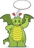 Pensamiento del dragón Fotos de archivo