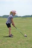 Pensamiento del golf Fotografía de archivo libre de regalías