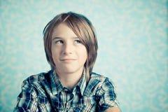 Pensamiento del niño Imagenes de archivo