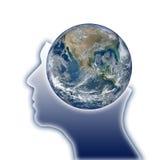 Pensamiento global imagen de archivo
