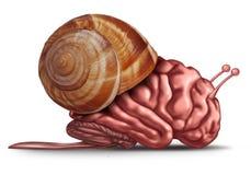 Pensamiento lento stock de ilustración