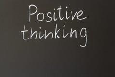 Pensamiento positivo Fotografía de archivo libre de regalías
