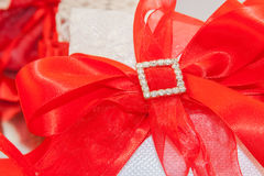 Pensamientos rojos para las bodas imagenes de archivo