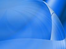 Pense do azul Imagens de Stock