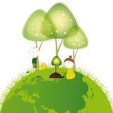 Pense o verde Fotos de Stock Royalty Free
