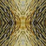 Penseldrag gulnar olje- målarfärg på kanfas abstrakt bakgrund Royaltyfria Foton