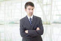 penser d'homme d'affaires photo libre de droits