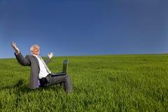 Penser de ciel bleu Photos libres de droits