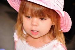 Penser de petite fille Photo libre de droits