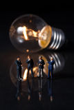 Penser et idée Images libres de droits