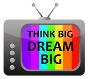 Penser et rêver Photos libres de droits