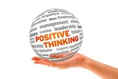 Penser positif Photo stock
