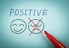 Penser positif Photographie stock