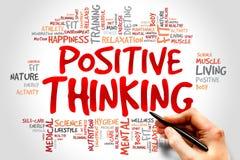 Penser positif Photo libre de droits