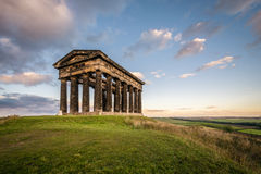 Penshaw Monument dominates the Wearside Skyline Royalty Free Stock Photos