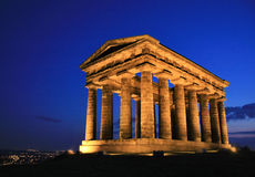 Penshaw Monument Sunset Royalty Free Stock Photography